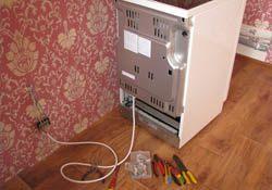 Подключение электроплиты. Владикавказские электрики.