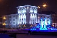 освещение фасадов в Владикавказе