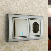 Установка выключателей в Владикавказе. Монтаж, ремонт, замена выключателей, розеток Владикавказ.